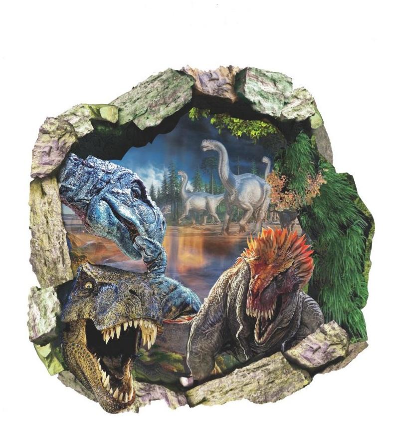 Samolepka Dinosauři Jurský park