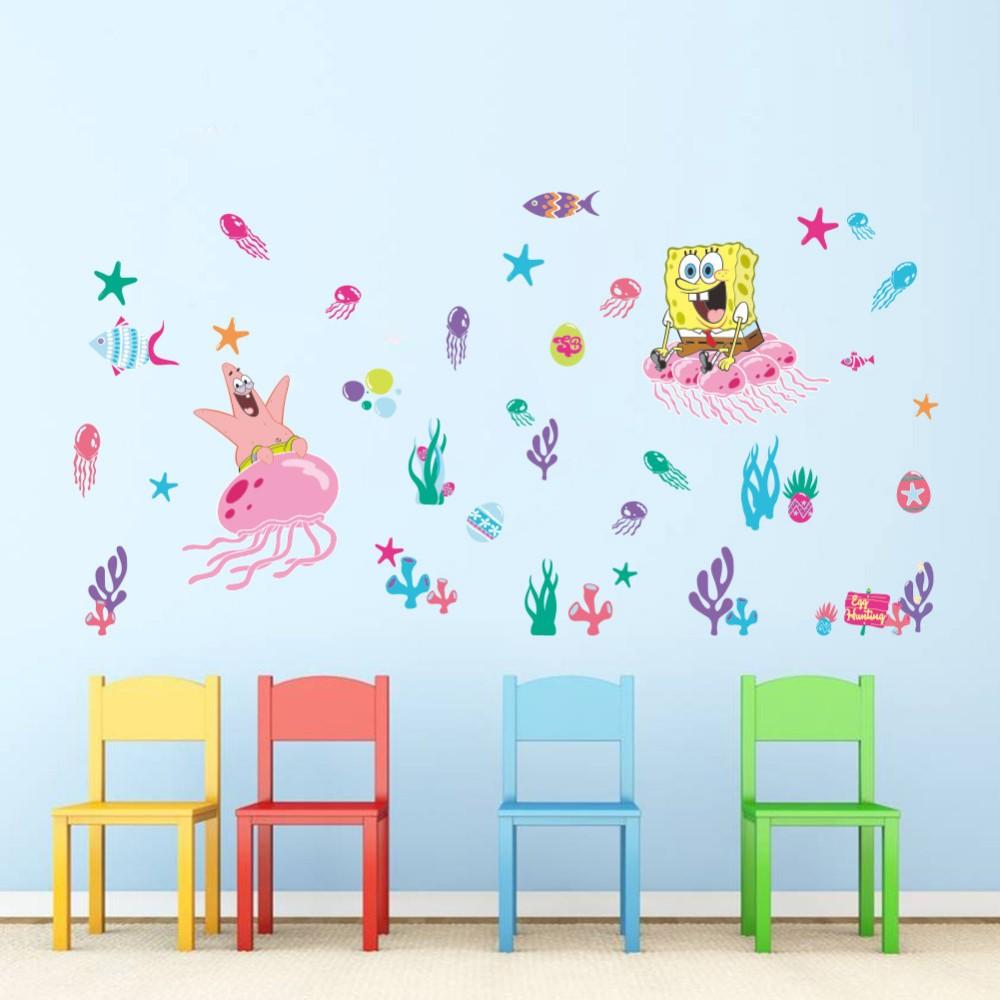 Samolepka SpongeBob a hvězdice Patrick