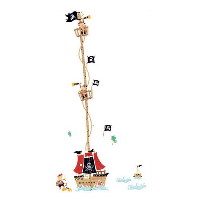 Samolepka metr Pirátská loď