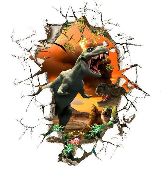 Samolepka Tyranosauři Jurský park