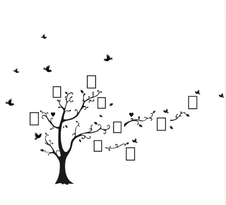 Samolepka Strom vzpomínek