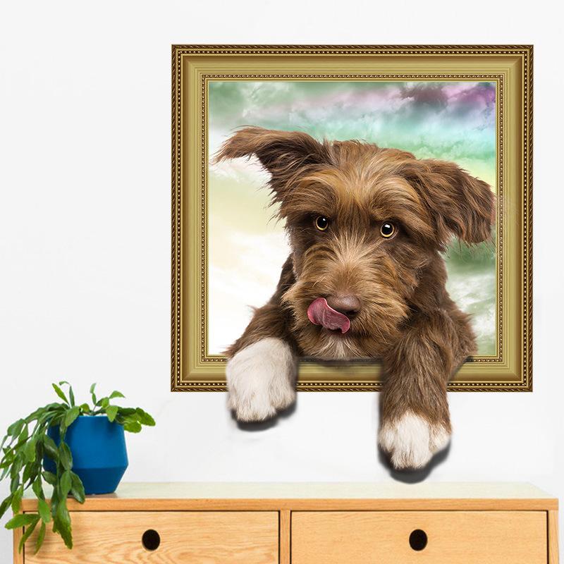 Samolepka Malé štěně
