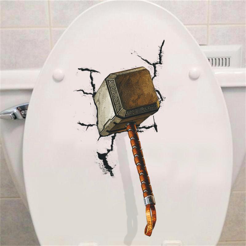 Samolepka Thorovo kladivo