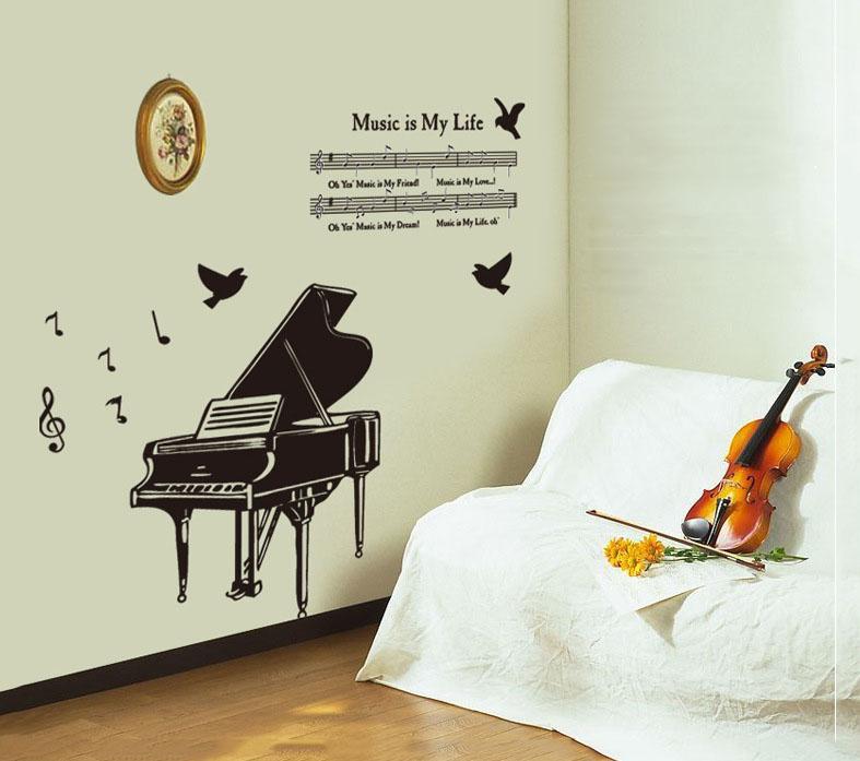 Samolepka Klavír