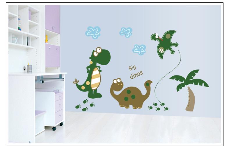 Samolepka Kreslení Dinosauři