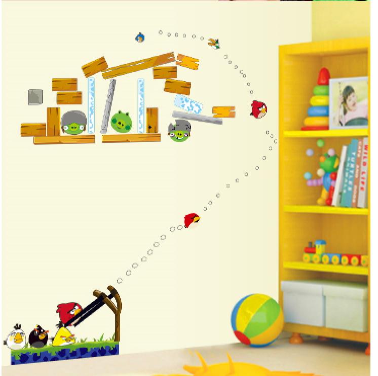 Samolepka Hra Angry Birds