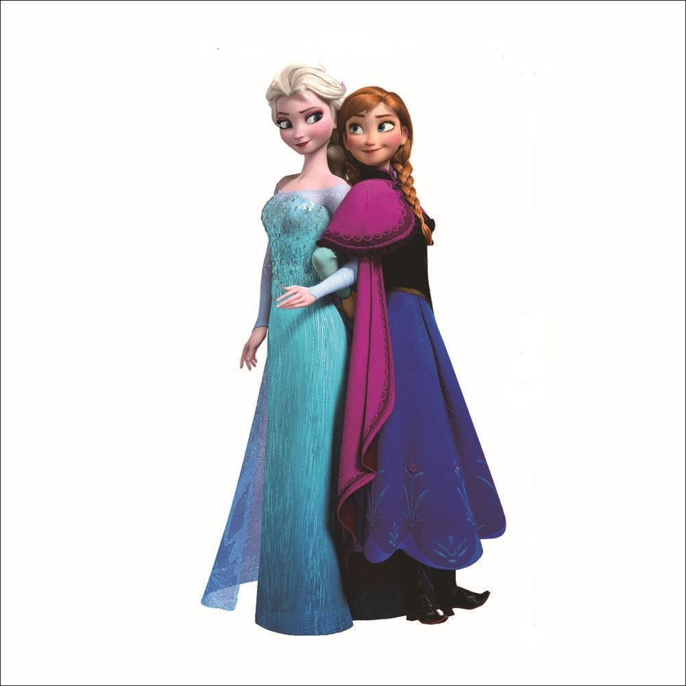 Samolepka Elsa a Anna Ledové království
