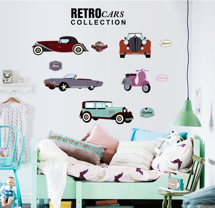 Samolepka Retro auta Veterán