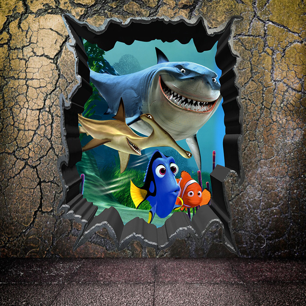 Samolepka Hledá se Nemo a Dory
