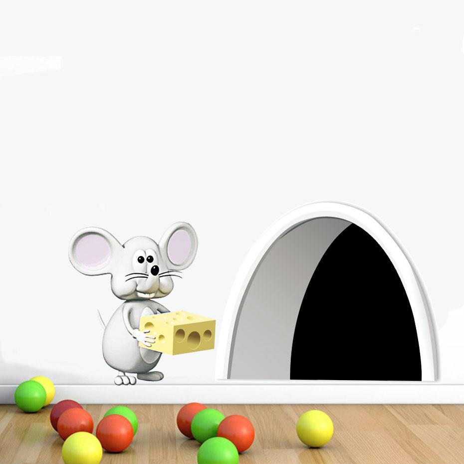 Samolepka Myší díra