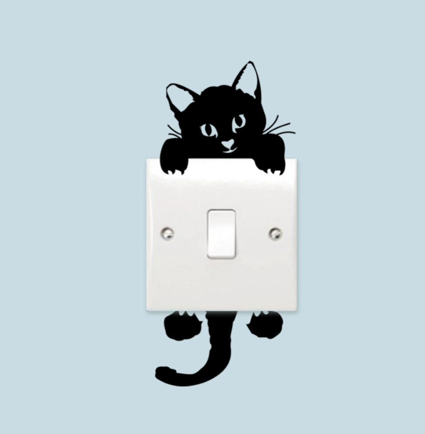 Samolepka Kotě