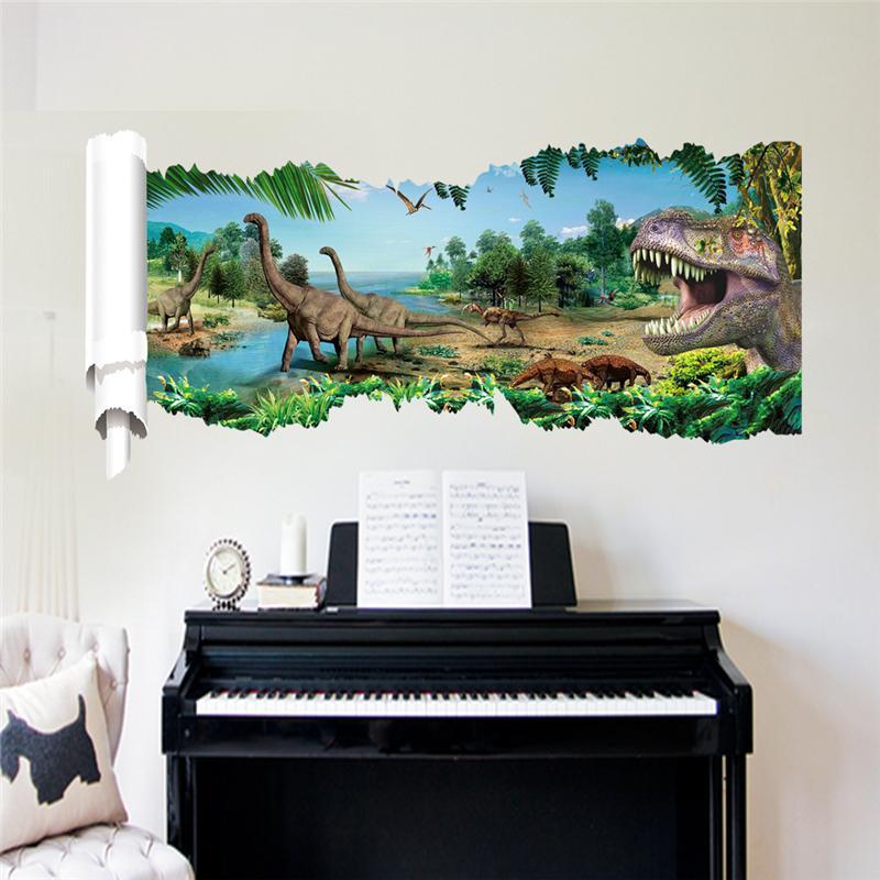 Samolepka Dinosauři a Tyranosauři II