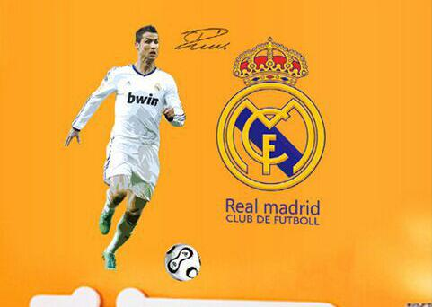 Samolepka Ronaldo Real Madrid
