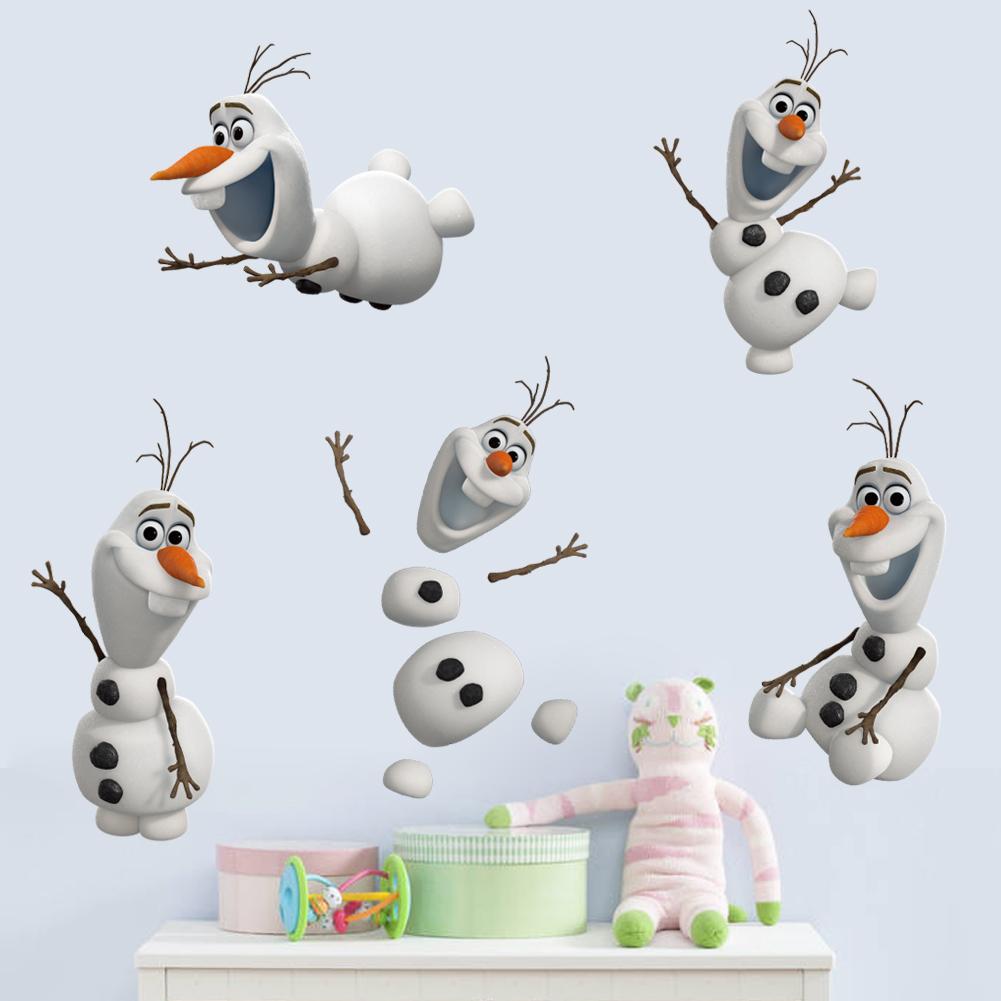 Samolepka sněhulák Olaf Ledové království