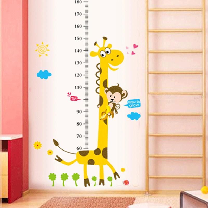 Samolepka metr Žirafa