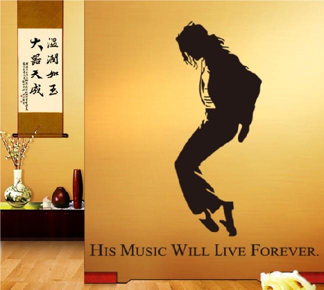 Samolepka Michael Jackson