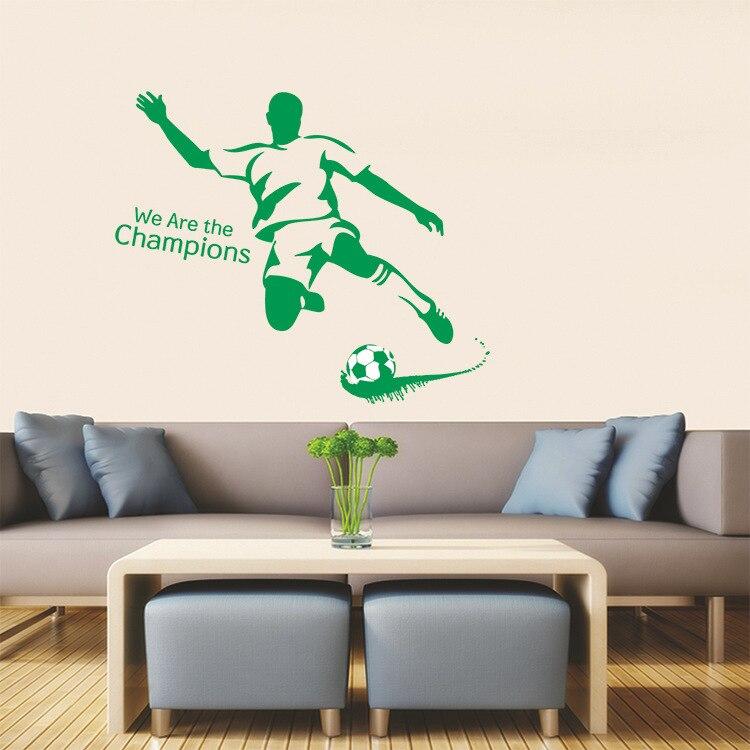 Samolepka Zelený fotbalista