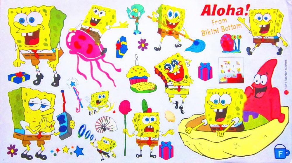 Samolepka SpongeBob