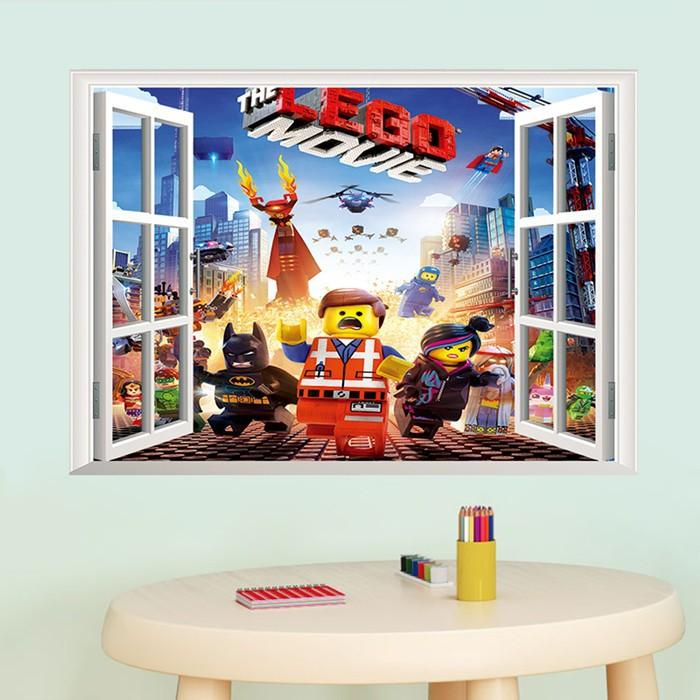 Samolepka Lego příběh