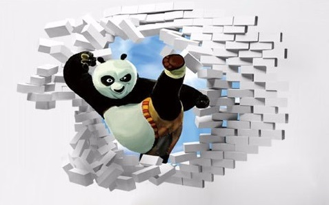 Samolepka Kung-Fu Panda