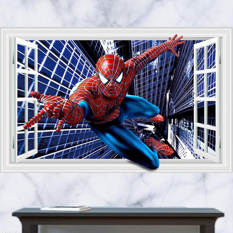Samolepka Spiderman superhrdina