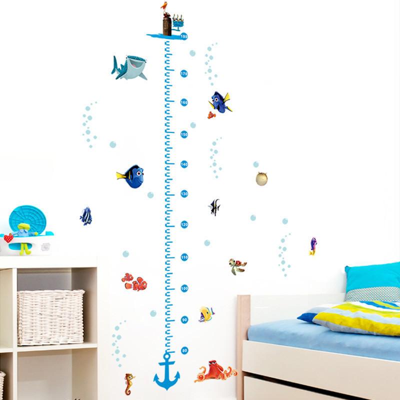 Samolepka metr Nemo a Dory