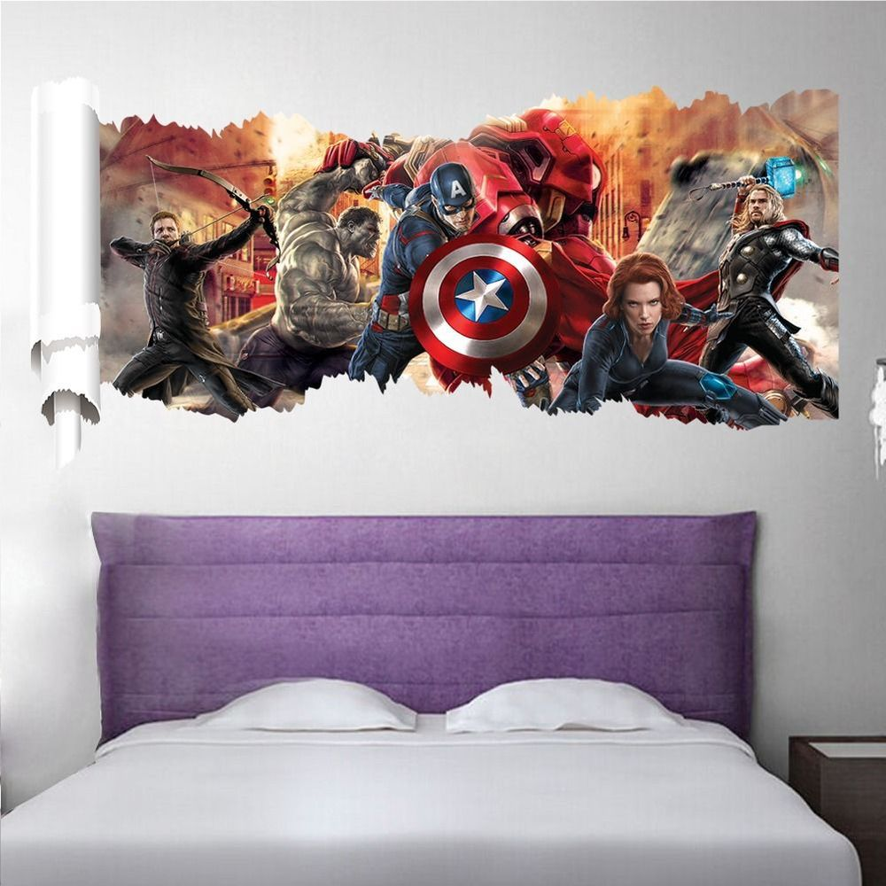 Samolepka tým Avengers