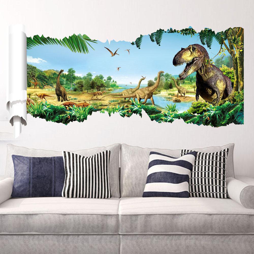 Samolepka Dinosauři a Tyranosauři