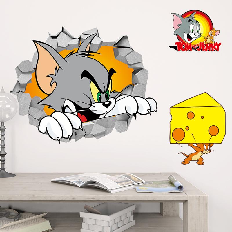 Samolepka Tom a Jerry