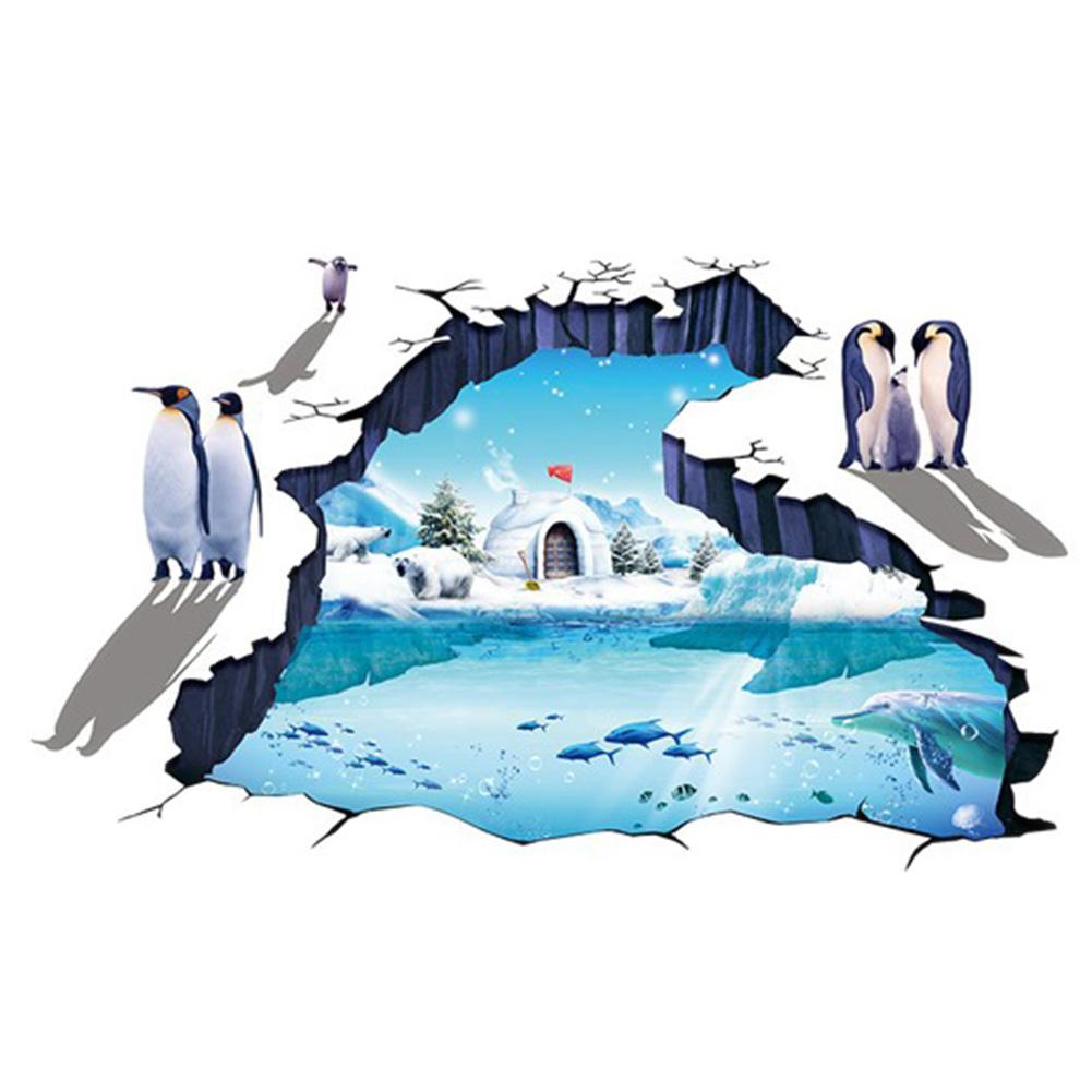 Samolepka Ledový svět