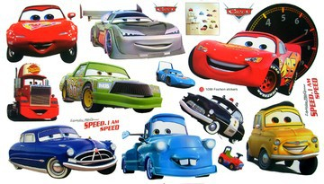 Samolepka Cars Auta