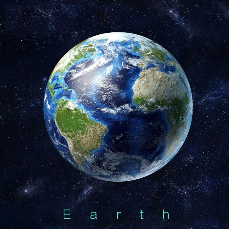 Samolepka Svítící Země