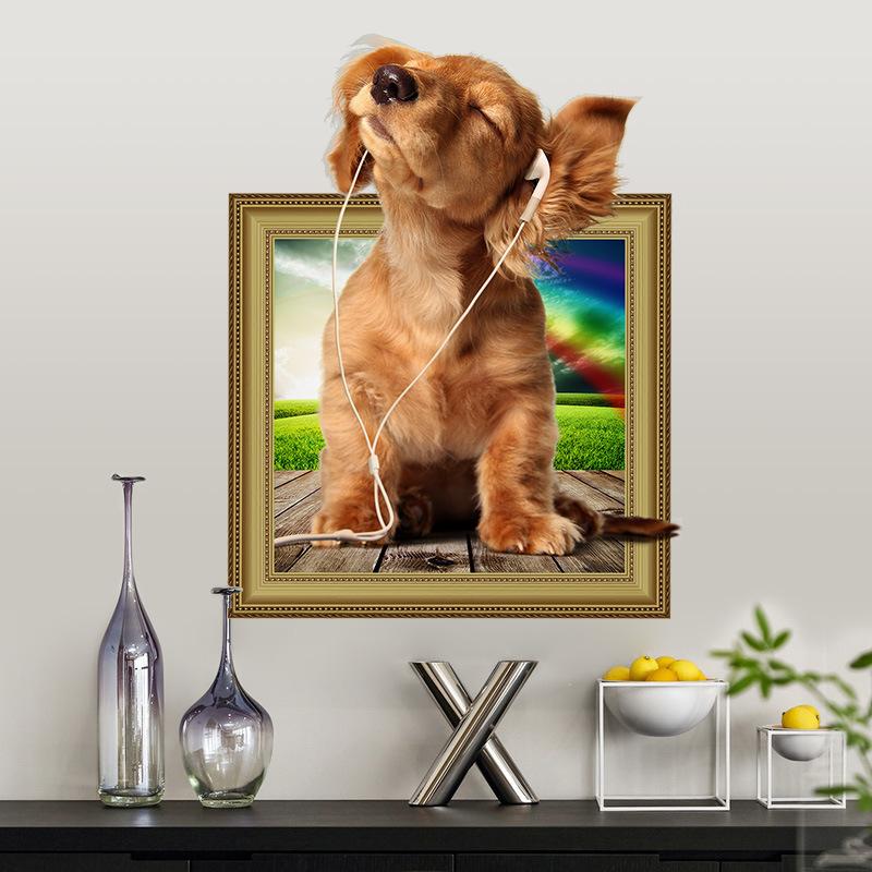 Samolepka Roztomilé štěně