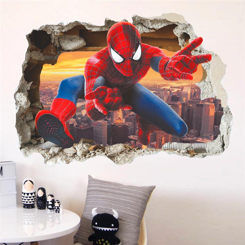 Samolepka Spiderman pavoučí muž