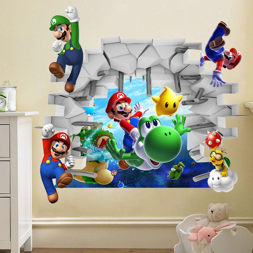 Samolepka Hra Super Mario
