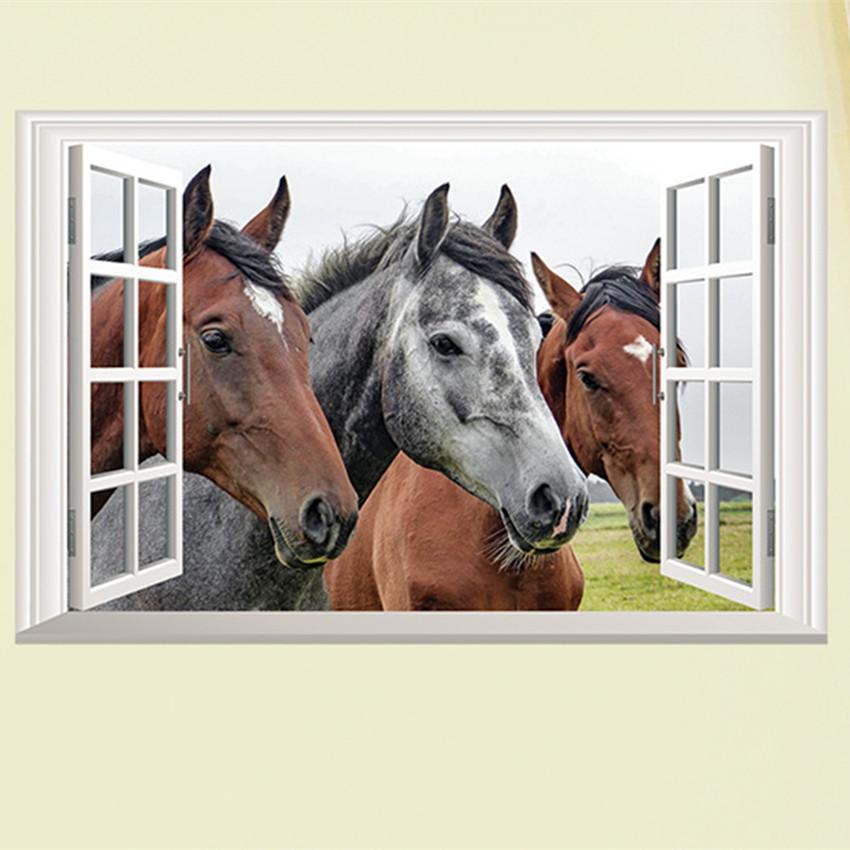 Samolepka Koně