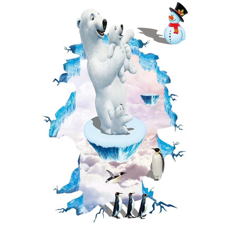 Samolepka Lední medvědi
